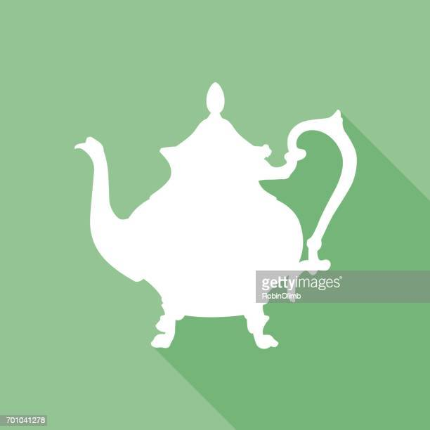 Green Teapot Icon 4