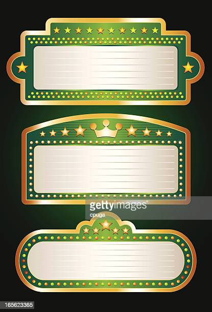 Green Theater Marquee Collection