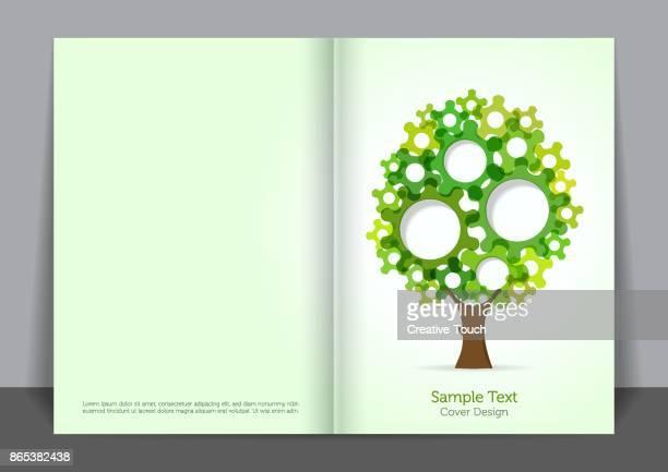 Green Tree Cover design