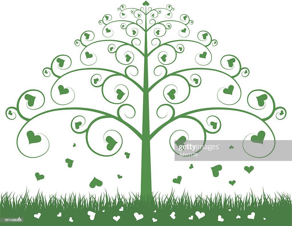 green tree : Vector Art
