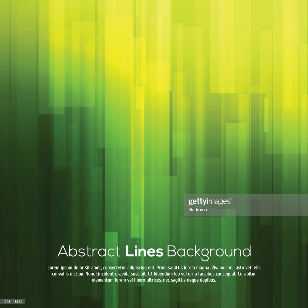 Green vector abstract background with lines