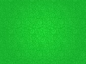 Green vector seamless abstract background