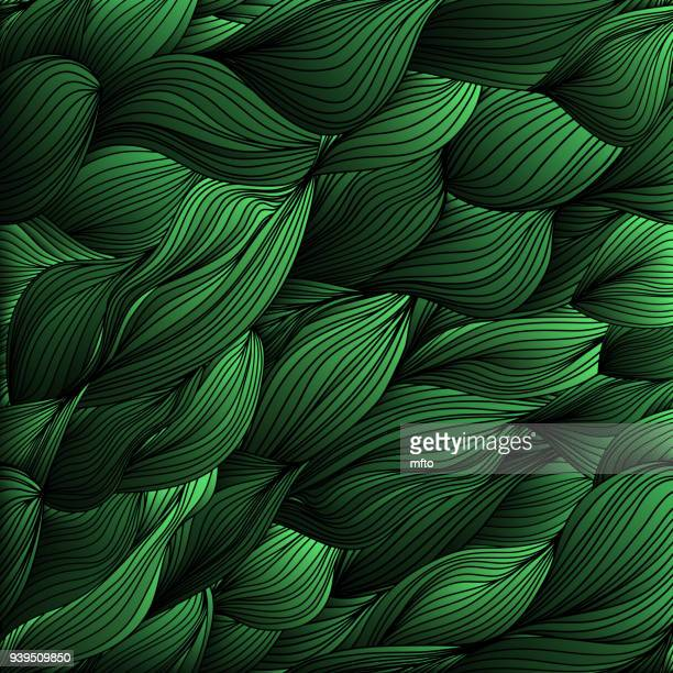 green wave background - green background stock illustrations, clip art, cartoons, & icons