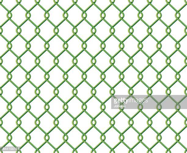 green wire mesh seamless - enclosure stock illustrations