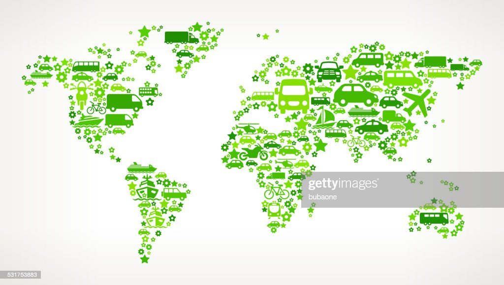 Green world map on transportation royalty free vector art pattern green world map on transportation royalty free vector art pattern vector art gumiabroncs Image collections