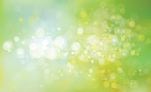 Green, yellow and blue abstract background