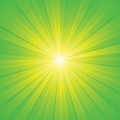 green yellow white ray background