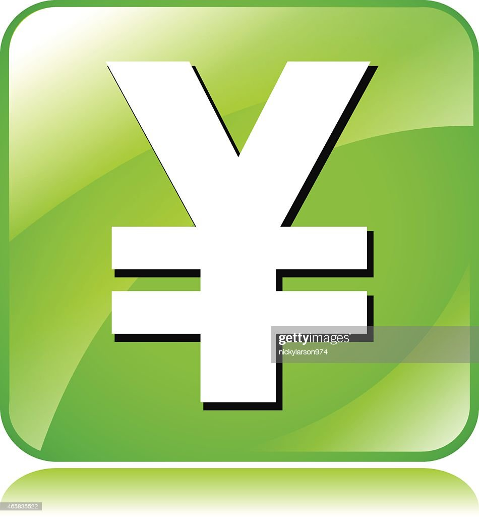 green yen icon