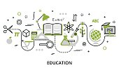 Greenery concept of education process