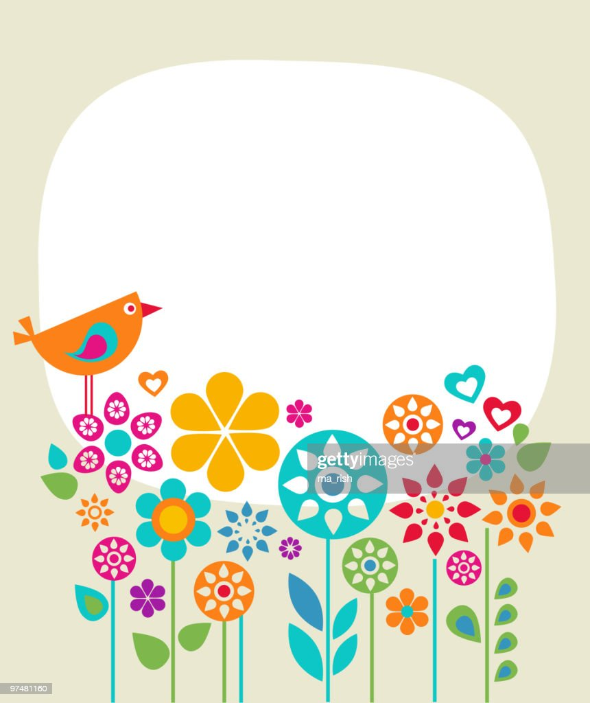 Greeting card background