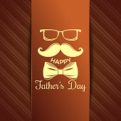 Greeting card for Fathers Day celebration