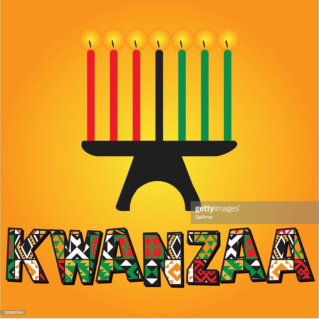 Greeting card for Kwanzaa.