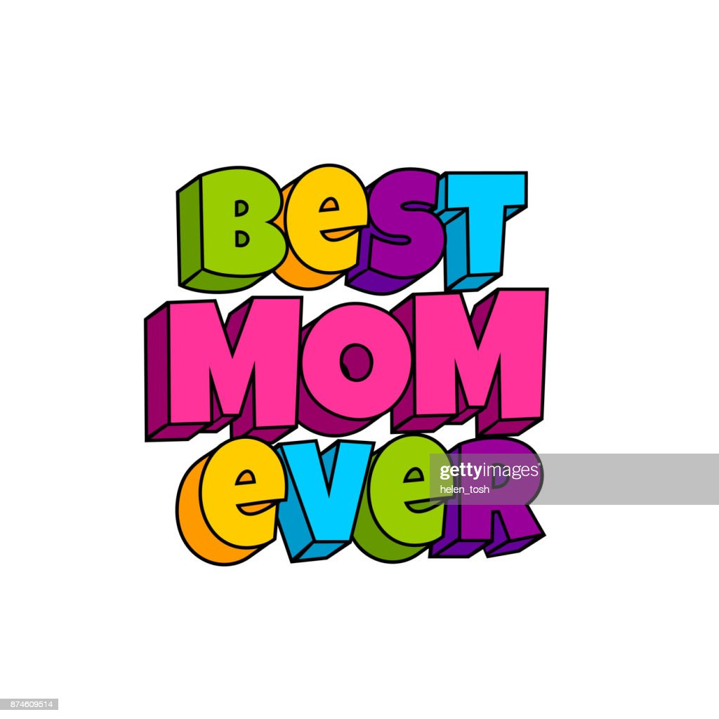 Greeting card for mommy mom mother