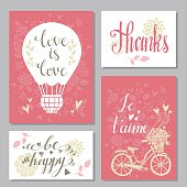 Greeting valentines day cards