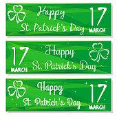Gren banners set for St. Patricks Day