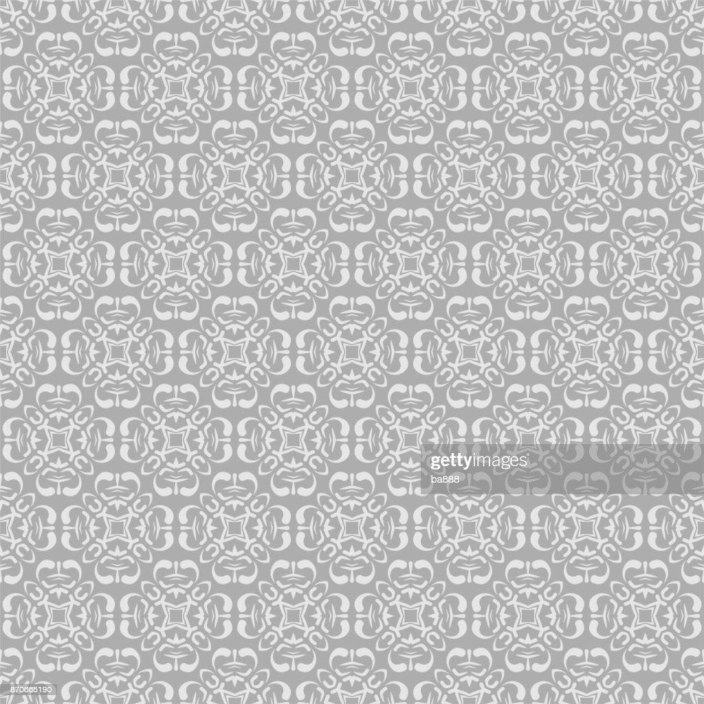 grey background, seamless pattern