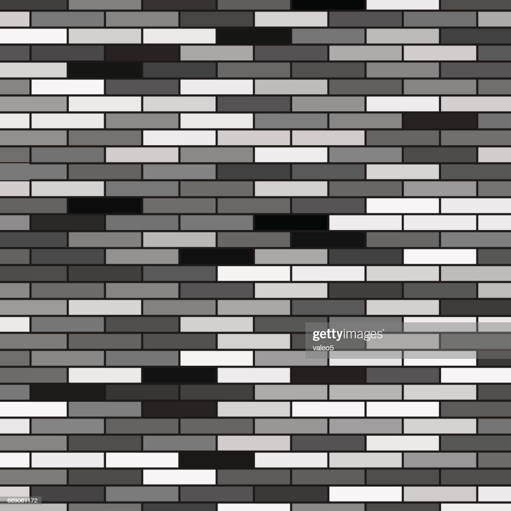 Grey Brick Background