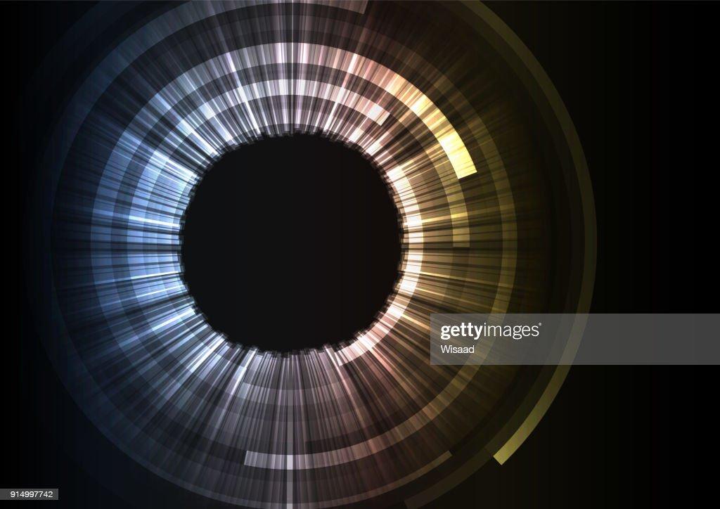 grey circle digital abstract sheet layer background