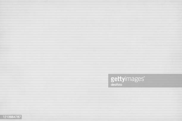 grey coloured empty background resembling textured corrugated paper sheet having horizontal stripes. - paperboard stock illustrations