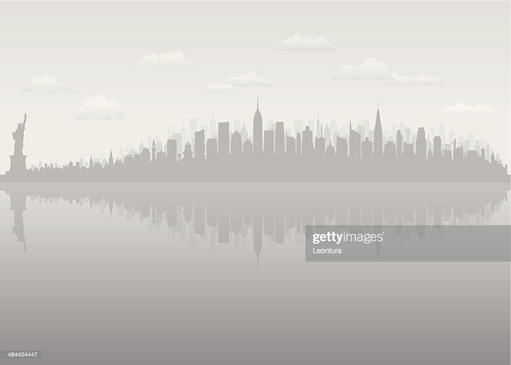 Grey New York (Complete, Moveable, Detailed Buildings)