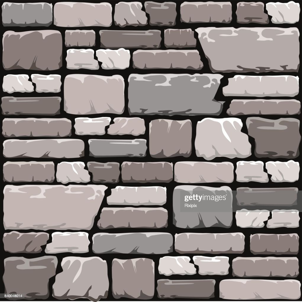 Grey stone wall background