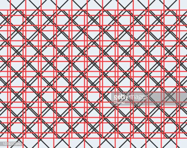 grid pattern, seamless geometric abstract background - centimetre stock illustrations