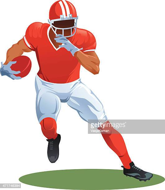 Gridiron - American Football Player Running With Ball