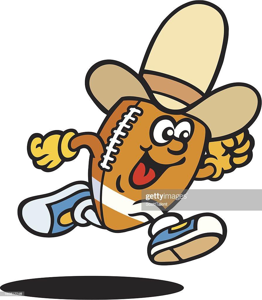 Gridiron Cowboy Man