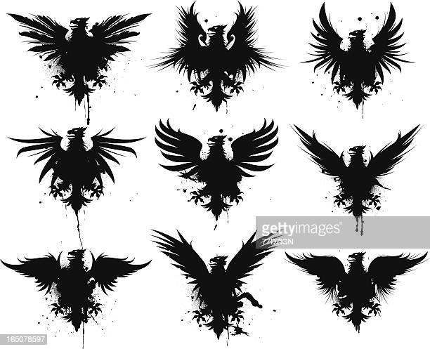 griffin ii - griffin stock illustrations, clip art, cartoons, & icons