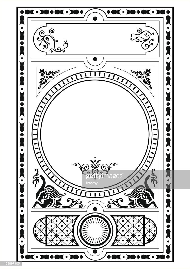 griffin scroll frame