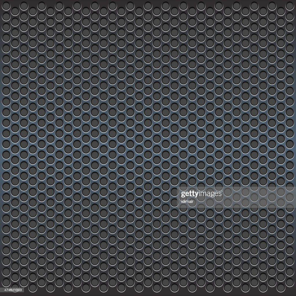 Grill. Dotted Sheet. Vector