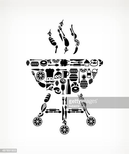 Grill essen & Getränk lizenzfreie vektor-Kunst