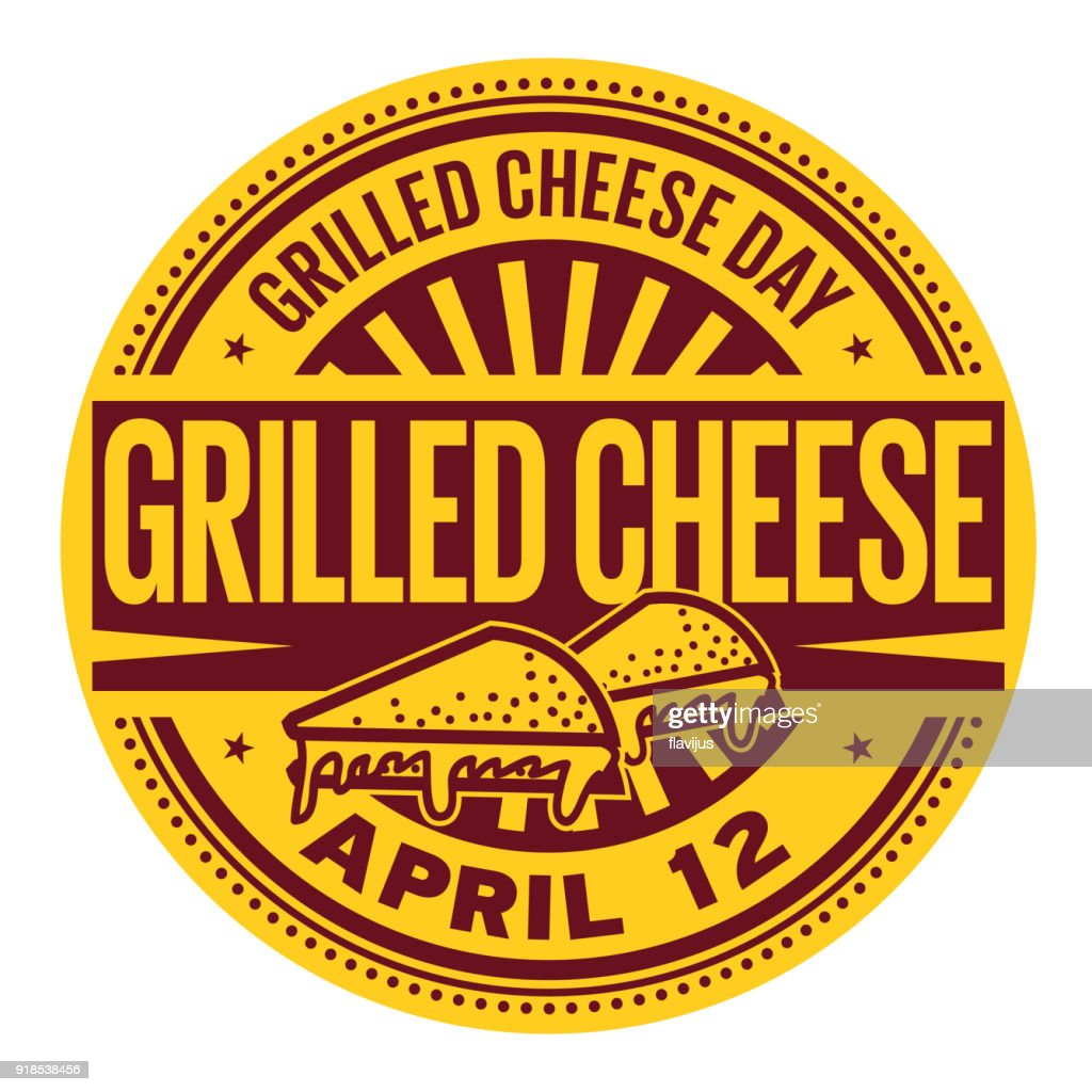 Grilled Cheese Day stamp