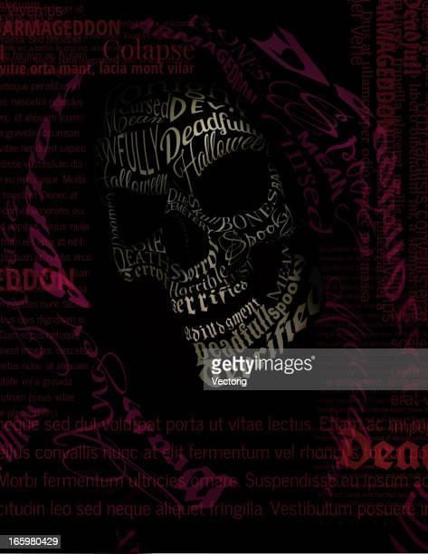 ilustraciones, imágenes clip art, dibujos animados e iconos de stock de texto de la muerte - la muerte