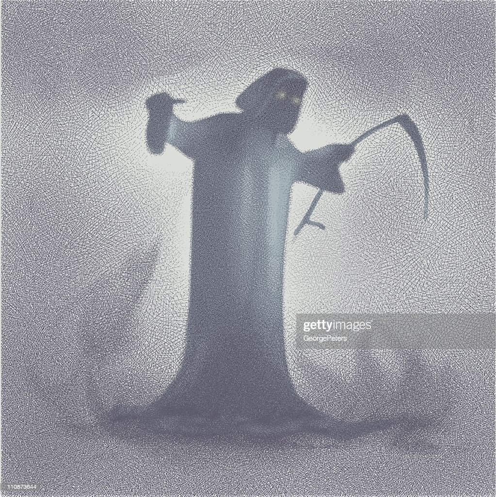 Grim Reaper : stock illustration
