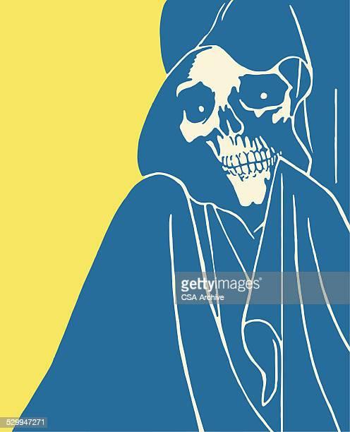 ilustraciones, imágenes clip art, dibujos animados e iconos de stock de la muerte - la muerte