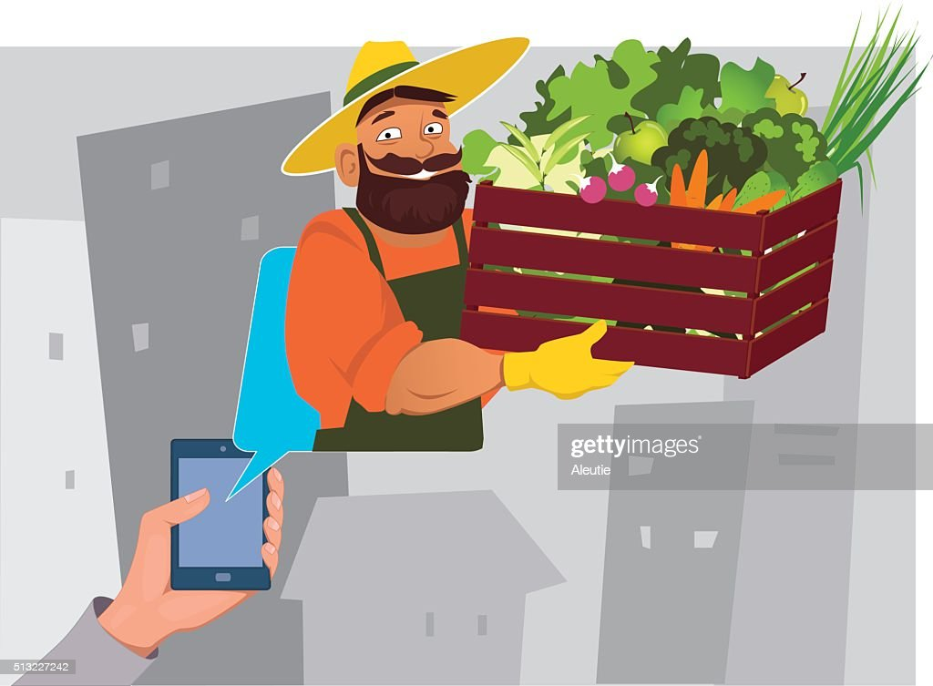 Grocery delivery order