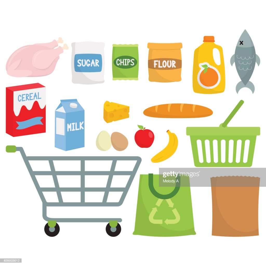 Grocery Shopping / Supermarket Produce