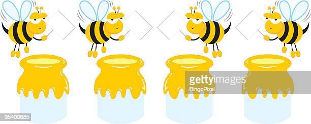 Groovy Bee Guild & Honey Pot