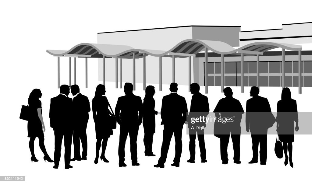 Group Business Convention Meeting : stock illustration