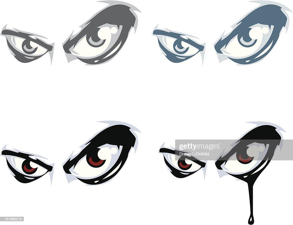 Group of Evil Eyes