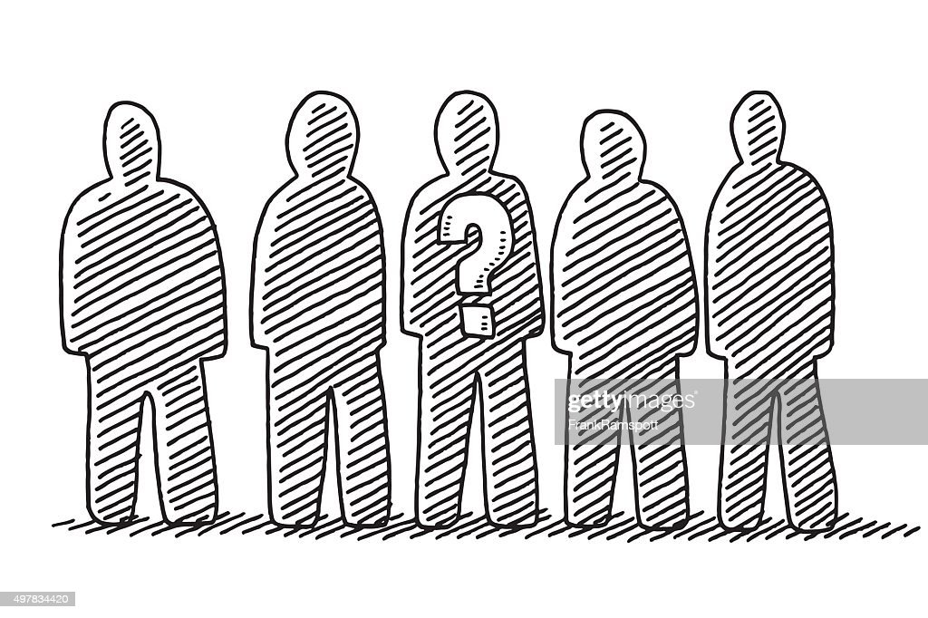 Group Of People Drawing