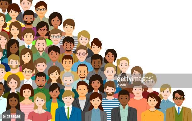 Gruppe von Personen