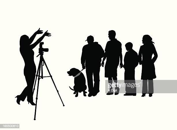 Group Picture Vector Silhouette