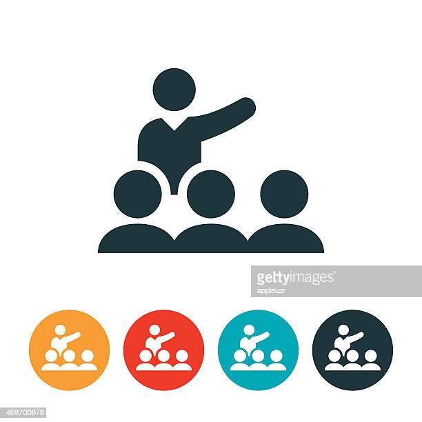Grupo ícone de apresentação