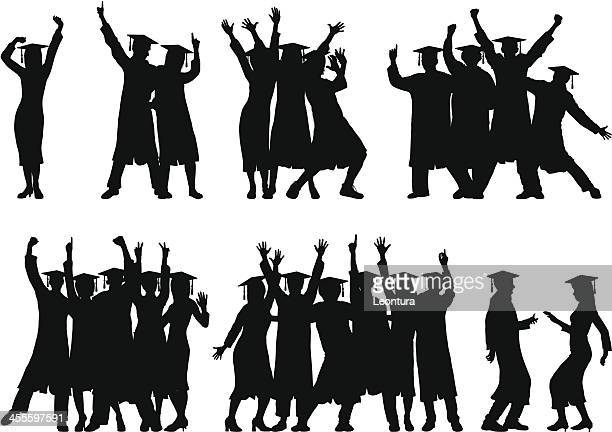 Groups of Graduates (People Are Moveable and Complete)