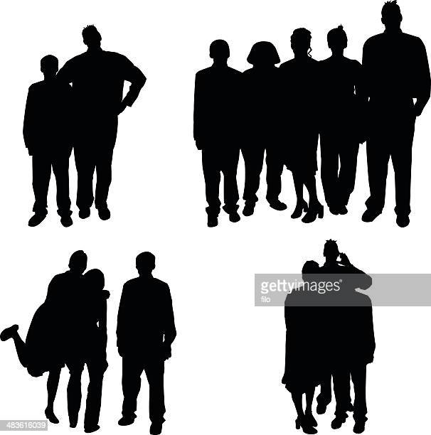 Groups of People [vector]
