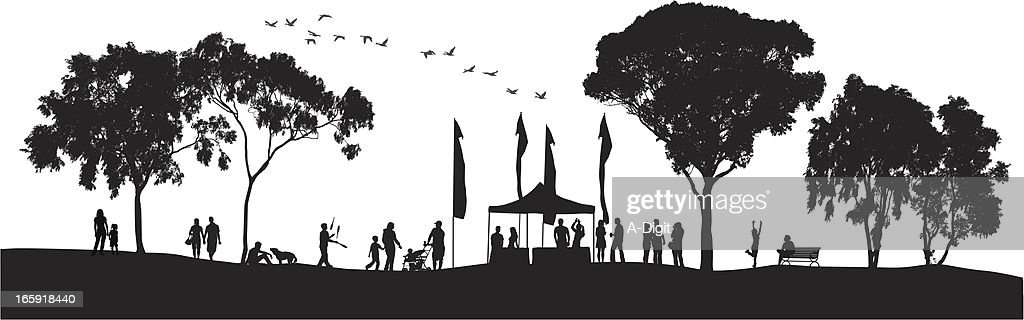 Groups Vector Silhouette