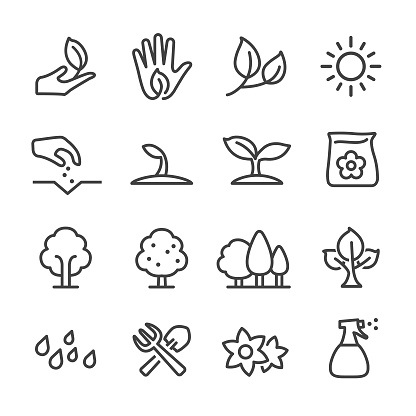 Growing Icons - Line Series - gettyimageskorea