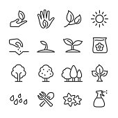 Growing Icons - Line Series